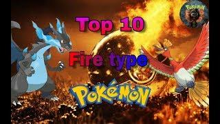 Top 10 most powerful fire type Pokemon of all time by anime power