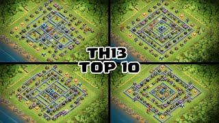 *TOP 10* BEST TH13 Legend League & War Bases 2020 - With BASE LINKS! - Clash of Clans