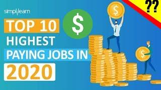 Top 10 Highest Paid Jobs to Make Millions $$$$