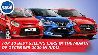 Top 10 Best Selling Cars In The Month Of December 2020 In India