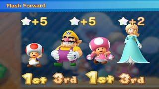 Mario Party 10 Mario Party - Rosalina Vs Wario Vs Toadette Vs Toad