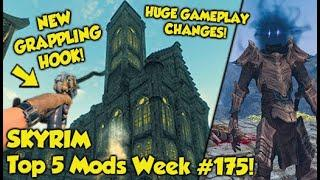 Skyrim Top 5 Mods of the Week #175 (Xbox One Mods)