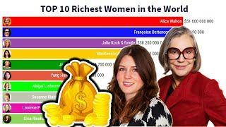 TOP 10 Richest Women in the World ( 2000 - 2020 )