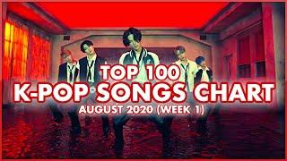 (TOP 100) K-POP SONGS CHART   AUGUST 2020 (WEEK 1)