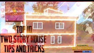 Top 10 two story house tips and tricks|PUBG MOBILE LITE|Gaming Vision|2020