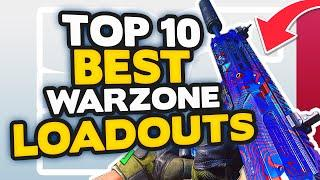 *NEW* Warzone Top 10 BEST LOADOUT + CLASS Setups (Call of Duty Warzone Tips)