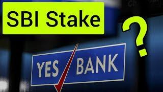 YES BANK SBI STAKE NEWS