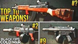Black Ops Cold War: RANKING The TOP 10 BEST WEAPONS In The Game!