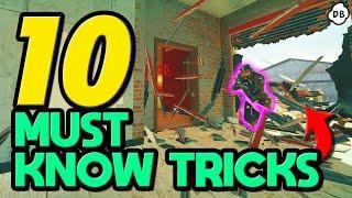 Top 10 *BEST* Tricks you Need to Know! - Rainbow Six : Siege