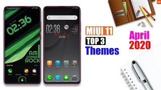 Top 3 MIUI 11 Premium Themes [No Third Party] MIUI 11 Supported Themes of April 2020