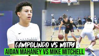 Campolindo vs Archbishop Mitty | Norcal Top Guards Face off | Nigel Burris First Game As A Monarch!
