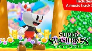 Smash Bros. Ultimate- Cuphead Reveal Trailer