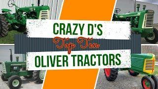 Top Ten Oliver Tractors