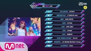 What are the TOP10 Songs in 3rd week of June? M COUNTDOWN 200618 EP.670