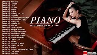 Top Piano Covers of Popular Songs 2020 - Best Instrumental Music For Work, Study, Sleep