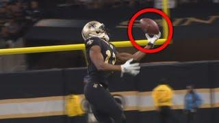NFL Crazy One Handed Catches of the 2019 Season