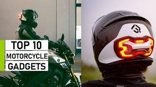 Top 10 Motorcycle Gadgets & Accessories You Must Have