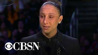 WNBA star Diana Taurasi remembers Kobe Bryant and daughter Gigi at memorial service