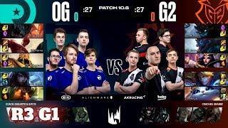 Origen vs G2 Esports - Game 1 | Round 3 PlayOffs S10 LEC Spring 2020 | OG vs G2 G1