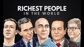 TOP 10 RICHEST PEOPLE IN THE WORLD | BE MOTIVATED