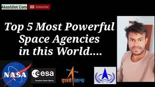 Top 5 Space Agencies in the world_ Most powerful Space research agency_ Hindi_ English subtitles