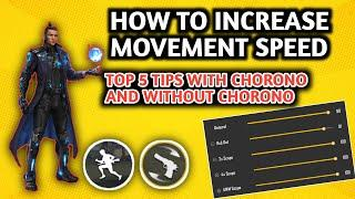 How To Increase Movement Speed And Hand Speed In two min||Top 5 Tips To increase Movement free fire