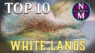 MTG Top 10: White Lands