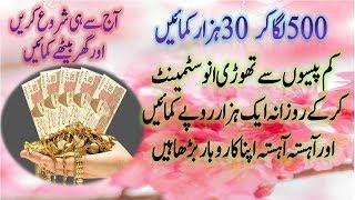Small Business Ideas 2020 in Pakistan | Start Your Own Business Just in 500 Rupees