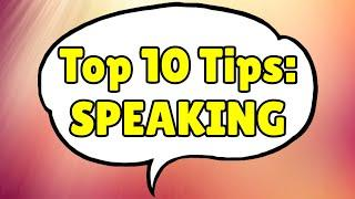 Top 10 tips to improve your English SPEAKING