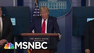 Trump Continues Looking For 'Targets To Blame' | Morning Joe | MSNBC