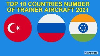 TOP 10 COUNTRIES NUMBER OF Transport Aircraft 2021 (GLOBAL FIRE POWER RANKING 2021)