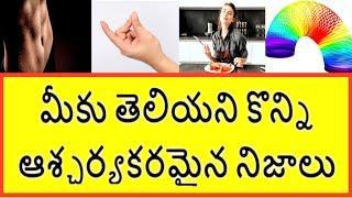Top 10 Interestin And Amazing Facts Telugu || Unknown Facts In Telugu || Telugu badi || Telugu Facts