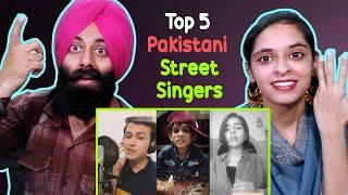 TOP 5 Pakistani Local Street Singers ! INDIAN REACTION