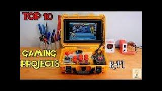 Top 10 Gaming Raspberry Pi IOT  Projects | Gamer' s Project By Raspberry Pi |