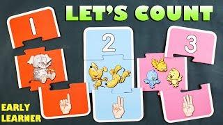 Learn 1 To 10 Numbers For Kids | Numbers For Children | Counting From 1 To 10 | Kids Learning Video