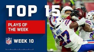 Top 15 Plays of Week 10 | NFL 2020 Highlights