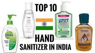 Top 10 best Hand sanitizer in india
