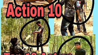 Top 10 action seen Mission-2||১০ টি অ্যাকশন||Mission-2||SM Mehedi360 ||