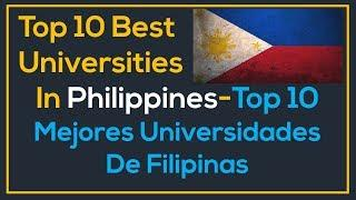 Study in Philippines Top Best Ched Ranked Universities in Philippines