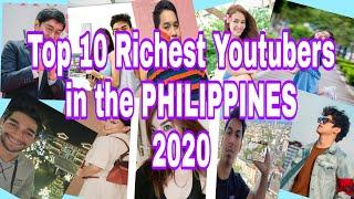 TOP 10 RICHEST YOUTUBERS IN THE PHILIPPINES * AND SOME OF INFORMATION