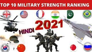 2021 MAIN DUNIYA KE TOP 10 POWERFUL MILITARY VALE COUNTRY'S    GLOBAL FIRE POWER KE KE ANUSAAR   