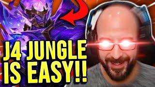 JARVAN MAKES PLAYING JUNGLE SO EASY!!! - SRO Road to Challenger
