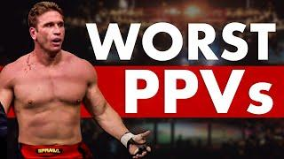 The 10 Worst UFC PPV Events Of All Time