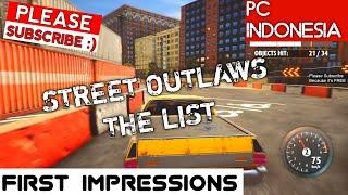 Street Outlaws The List Gameplay PC First Impressions