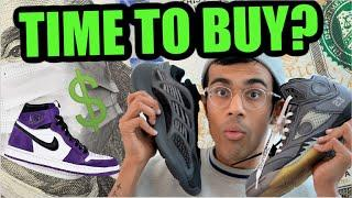 SNEAKER RESELL UPDATE - IS NOW THE BEST TIME TO BUY SNEAKERS? WHICH SNEAKERS TO BUY?
