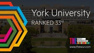 York University Places 33rd in Times Higher Education Impact Rankings