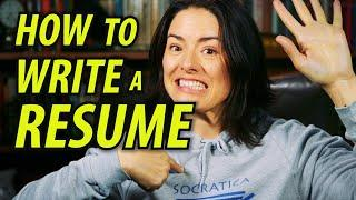 How to Write a Resume Tips - Apply for Jobs - Study Tips - Resume Template