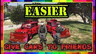 EASIER GC2F - GTA ONLINE 1.50 - GIVE CARS TO FRIENDS
