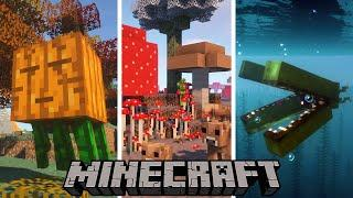 Top 10 Minecraft Mods Of The Week   Sculk Sensor, Biome Makeover, Mobile Beacon and More!