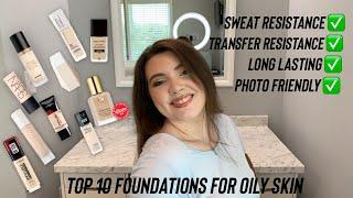 Top 10 Foundations For Oily Skin | Drugstore & High End